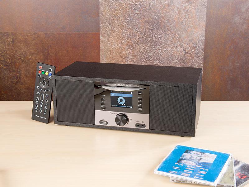 VR-Radio Stereo-Internetradio M. CD-Player, DAB+/FM