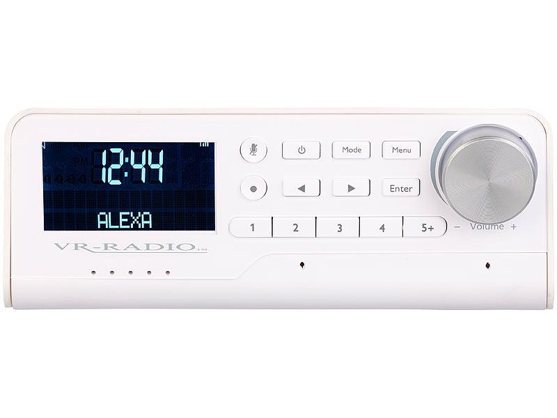 Vr Radio Unterbau Wlan Kuchenradio Mit Amazon Alexa Dab Ukw 10