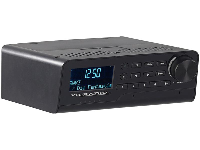 Vr Radio Unterbau Wlan Kuchenradio Amazon Alexa Dab Ukw 10 Watt