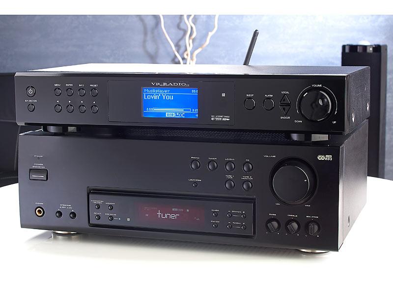 vr radio internetradio tuner irs 820 hifi mit digitalradio. Black Bedroom Furniture Sets. Home Design Ideas
