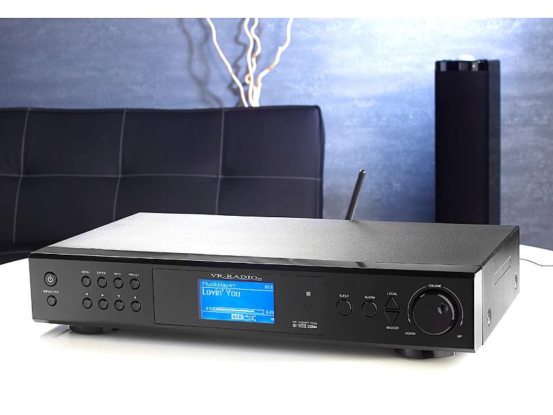 VR-Radio Internetradio-Tuner mit HiFi-Design LAN/ WLAN