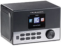 VR-Radio WLAN-Stereo-Internetradio, DAB+, Wecker, USB, 20 W, 8,1-cm-Display