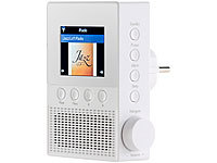 VR-Radio Steckdosen-Internetradio IRS-300 mit WLAN, 6,1-cm-Display, 6 Watt