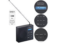 VR-Radio Digitales DAB+/FM-Radio mit Akku, Dual-Wecker, RDS, LCD-Display, Timer; Radiowecker DAB+ & UKW Radiowecker DAB+ & UKW Radiowecker DAB+ & UKW Radiowecker DAB+ & UKW