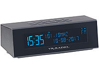 VR-Radio Digitales DAB+/FM-Stereo-Radio mit Wecker, USB-Ladeport & RDS, 8 Watt