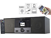 VR-Radio Stereo-Internetradio m. CD-Player, DAB+/FM, Farbdisplay (refurbished); Akku-Radiowecker mit DAB+ und UKW, Radiowecker DAB+ & UKW Akku-Radiowecker mit DAB+ und UKW, Radiowecker DAB+ & UKW