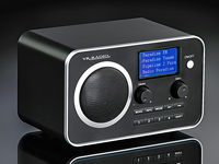 VR-Radio WLAN Internet-Radio mit MP3-Streaming & Audio-Ausgang (refurbished)