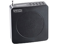 VR-Radio Digitales DAB+/FM-Radio DOR-200.FM mit Akku  (refurbished); Internetradio-Wecker mit DAB+ und USB-Ladestation
