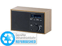 VR-Radio Digitales DAB+/FM-Radio mit Wecker, LCD-Display (Versandrückläufer)