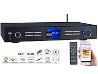 VR-Radio WLAN-HiFi-Tuner mit Internetradio, DAB+, UKW, Streaming, MP3, schwarz