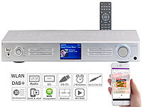 VR-Radio WLAN-HiFi-Tuner mit Internetradio, DAB+, UKW, Streaming, MP3, silber