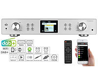 VR-Radio Digitaler WLAN-HiFi-Tuner mit Internetradio, DAB+, UKW, MP3, Alu-Optik