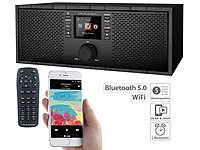 VR-Radio Stereo-WLAN-Internetradio, Farb-Display, 12 W, Bluetooth 5, Fernbed.