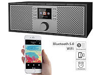 VR-Radio Stereo-WLAN-Internetradio mit Farb-Display, 12 Watt, Bluetooth 5, App
