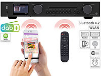 VR-Radio WLAN-HiFi-Tuner mit Internetradio, CD, DAB+, UKW & Bluetooth, MP3/WMA